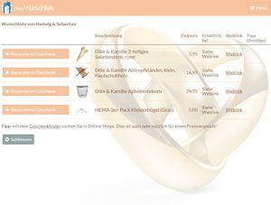 7f2ff8e28ce73e Online Wunschliste - Designs